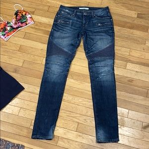 Joe jeans Chelsea moto jeans pants bottom denim
